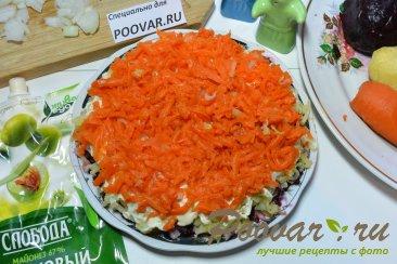 Селёдка под шубой из запечённых овощей Шаг 11 (картинка)