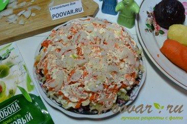 Селёдка под шубой из запечённых овощей Шаг 12 (картинка)