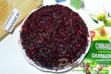 Селёдка под шубой из запечённых овощей Шаг 13 (картинка)