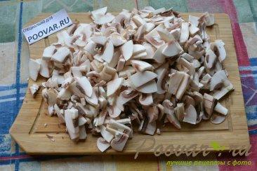 Пирожки с мясом и грибами из слоёного теста Шаг 3 (картинка)