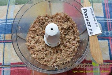 Пирожки с мясом и грибами из слоёного теста Шаг 5 (картинка)