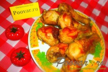 Куриные ножки в томатно-медовом маринаде в духовке Изображение