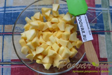Творожный кекс с яблоками на соке Шаг 2 (картинка)