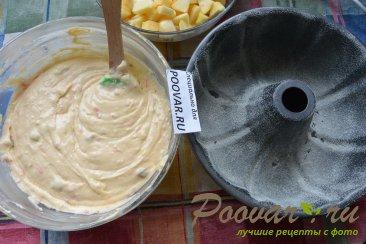 Творожный кекс с яблоками на соке Шаг 9 (картинка)