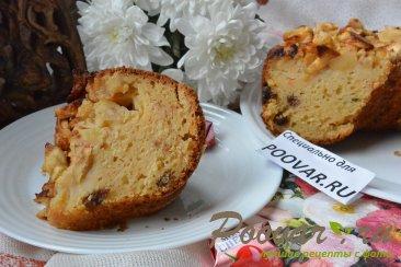 Творожный кекс с яблоками на соке Шаг 14 (картинка)