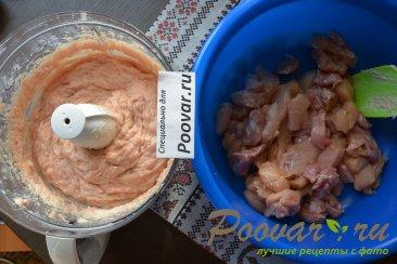 Куриная домашняя колбаса в пищевой пленке Шаг 6 (картинка)