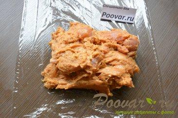 Куриная домашняя колбаса в пищевой пленке Шаг 9 (картинка)