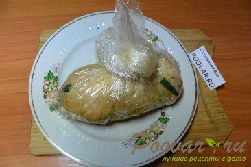 Куриная домашняя колбаса в пищевой пленке Шаг 15 (картинка)