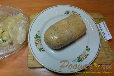 Куриная домашняя колбаса в пищевой пленке Шаг 16 (картинка)