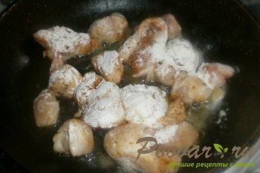 Куриные хвостики с капустой Шаг 4 (картинка)