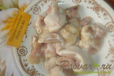 Куриные хвостики с капустой Шаг 2 (картинка)