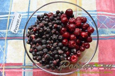 Песочный торт с ягодами и безе Шаг 6 (картинка)