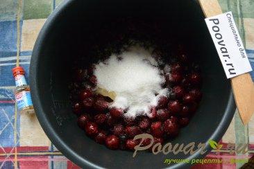Песочный торт с ягодами и безе Шаг 7 (картинка)