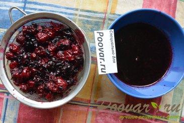 Песочный торт с ягодами и безе Шаг 8 (картинка)