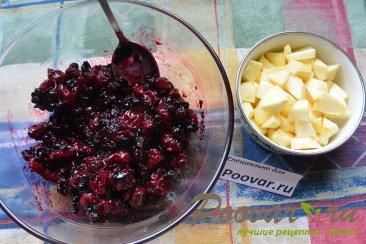 Песочный торт с ягодами и безе Шаг 9 (картинка)