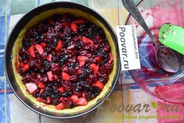 Песочный торт с ягодами и безе Шаг 12 (картинка)