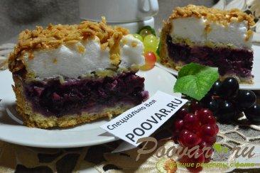 Песочный торт с ягодами и безе Шаг 20 (картинка)