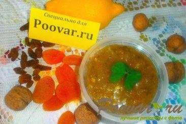Сырое варенье из лимона с мёдом и сухофруктами Шаг 15 (картинка)