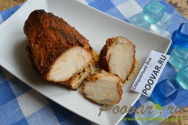 Домашняя пастрома из куриной грудки в духовке Шаг 10 (картинка)