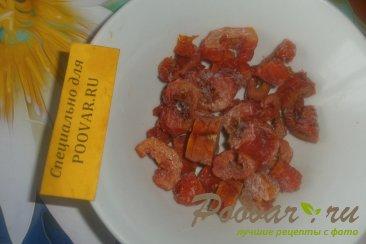 Куриная печень с сердечками и овощами на сковороде Шаг 13 (картинка)