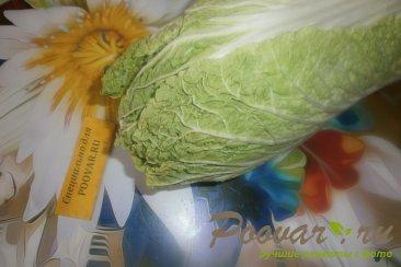 Фруктово овощной салат с крабовыми палочками Шаг 1 (картинка)