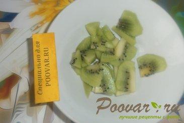 Фруктово овощной салат с крабовыми палочками Шаг 6 (картинка)