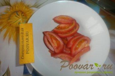 Фруктово овощной салат с крабовыми палочками Шаг 3 (картинка)