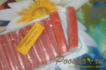 Фруктово овощной салат с крабовыми палочками Шаг 8 (картинка)