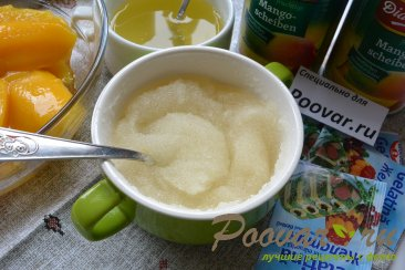 Легкий чизкейк без выпечки с манго Шаг 14 (картинка)