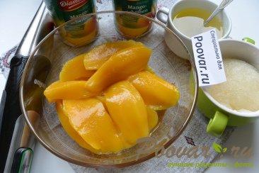 Легкий чизкейк без выпечки с манго Шаг 13 (картинка)