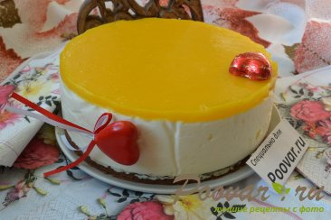 Легкий чизкейк без выпечки с манго Шаг 18 (картинка)