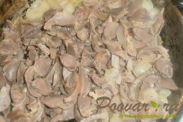 Баклажаны с куриными желудками Шаг 14 (картинка)