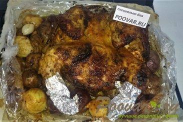 Целая курица в духовке с овощами Шаг 9 (картинка)