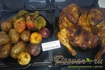 Целая курица в духовке с овощами Шаг 11 (картинка)