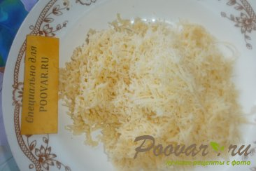 Киш с сыром и зелёным горошком Шаг 4 (картинка)