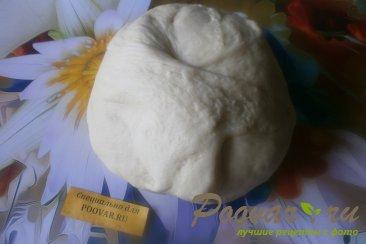 Киш с сыром и зелёным горошком Шаг 6 (картинка)