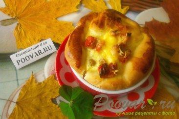 Киш с сыром и зелёным горошком Шаг 20 (картинка)