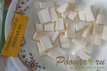 Киш с сыром и зелёным горошком Шаг 3 (картинка)