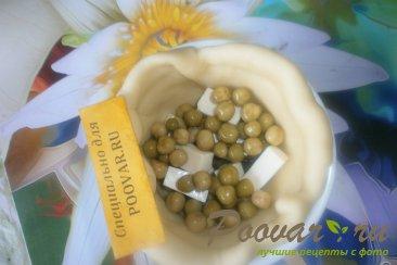 Киш с сыром и зелёным горошком Шаг 13 (картинка)
