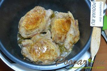 Тушеная картошка с мясом в мультиварке Шаг 4 (картинка)