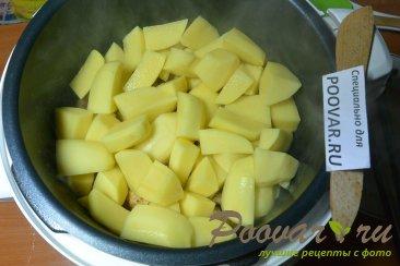 Тушеная картошка с мясом в мультиварке Шаг 9 (картинка)