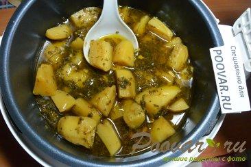 Тушеная картошка с мясом в мультиварке Шаг 12 (картинка)