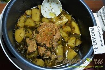 Тушеная картошка с мясом в мультиварке Шаг 13 (картинка)