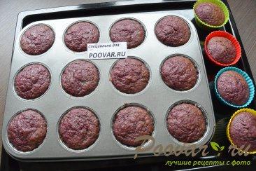 Постные маффины с тыквой на соке Шаг 12 (картинка)