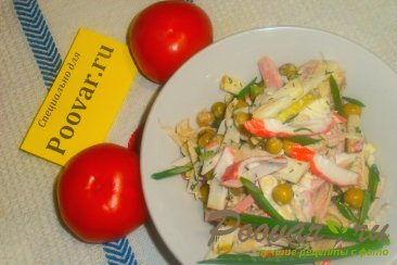 Салат из яблок и зелёного горошка Шаг 14 (картинка)