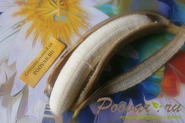 Банановые оладьи с яблоками Шаг 1 (картинка)