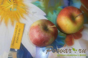 Банановые оладьи с яблоками Шаг 8 (картинка)