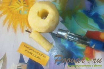 Банановые оладьи с яблоками Шаг 9 (картинка)