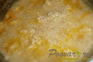 Постная пшеничная каша с луком и морковью Шаг 10 (картинка)