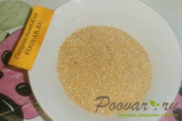 Постная пшеничная каша с луком и морковью Шаг 6 (картинка)